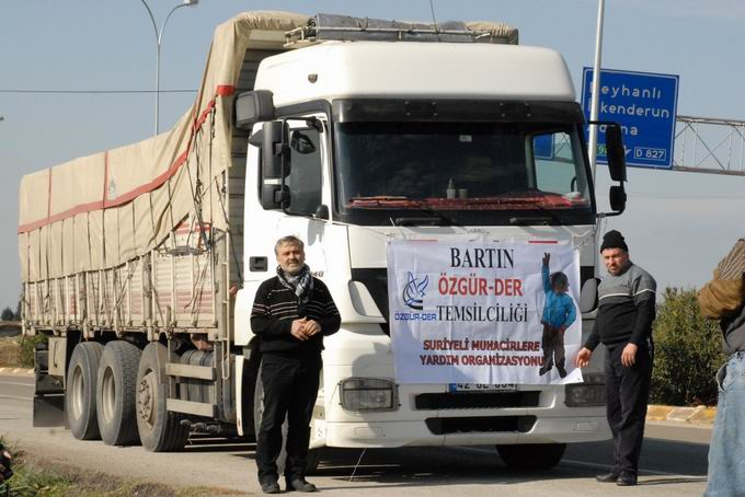 Bartın ve Ereğli'den Yola Çıkan Yardımlar Suriyede  8