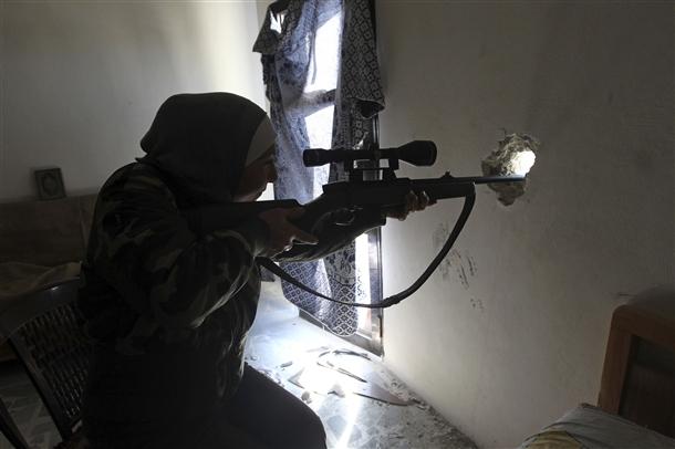 Halep'te Kadın Sniper galerisi resim 1