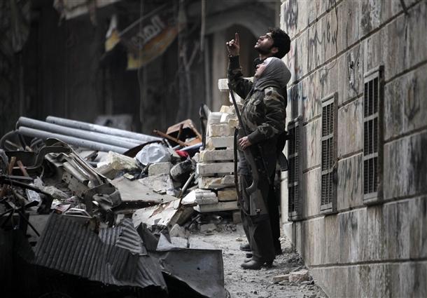 Halep'te Kadın Sniper 2