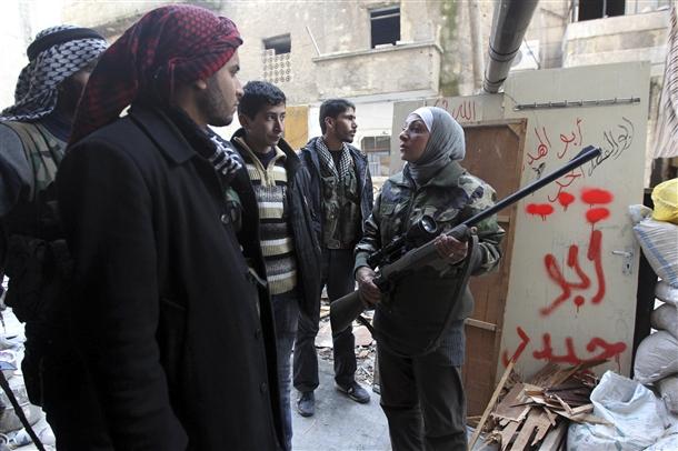 Halep'te Kadın Sniper 4