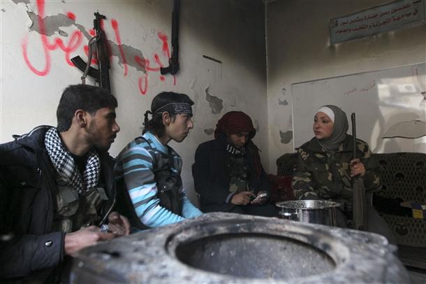 Halep'te Kadın Sniper 5