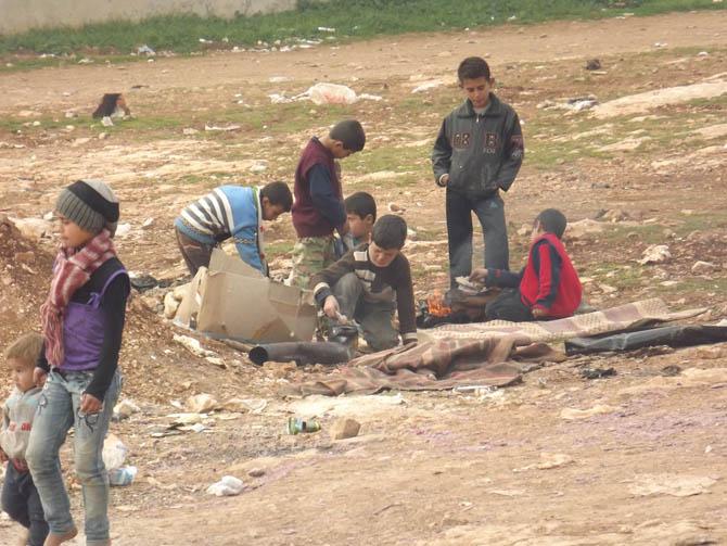 Kah Mülteci Kampının Yetim Çocukları 22