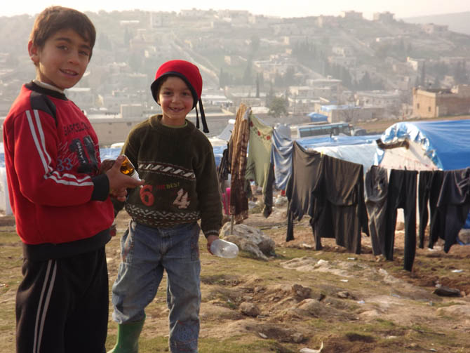 Kah Mülteci Kampının Yetim Çocukları 26
