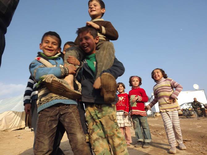 Kah Mülteci Kampının Yetim Çocukları 31