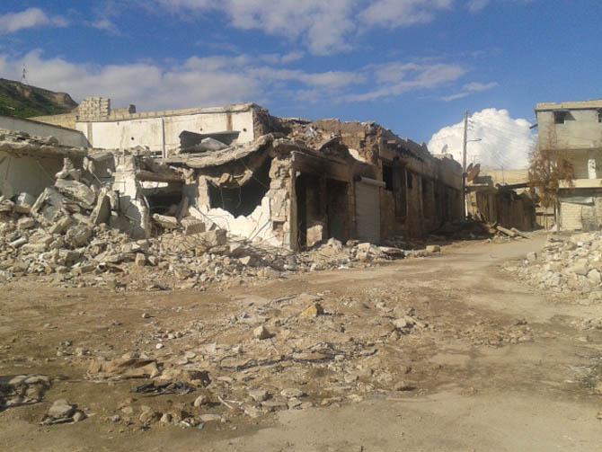 Eynesil ve Trabzonun Yardımları Suriyede 1