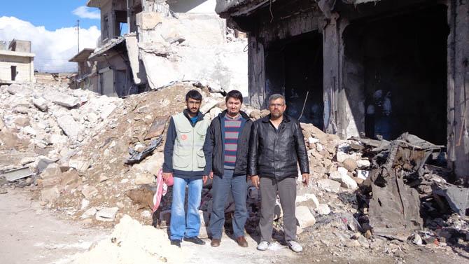Eynesil ve Trabzonun Yardımları Suriyede 10