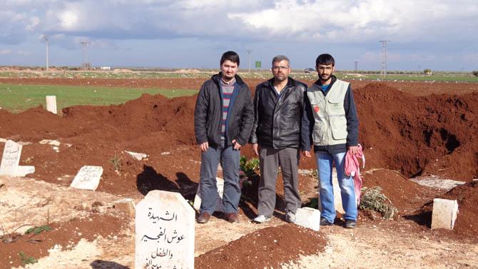 Eynesil ve Trabzonun Yardımları Suriyede 11