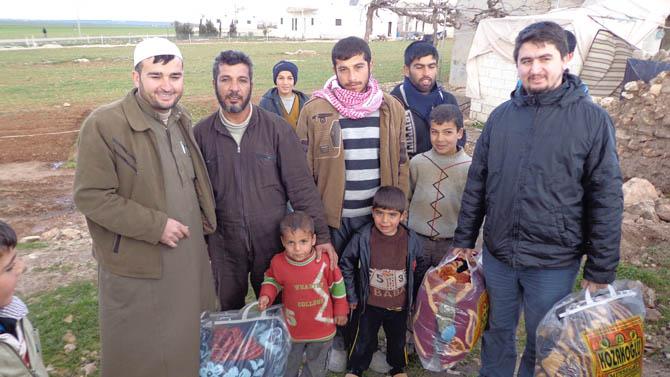 Eynesil ve Trabzonun Yardımları Suriyede 14