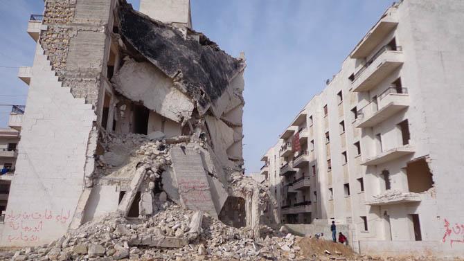 Eynesil ve Trabzonun Yardımları Suriyede 16