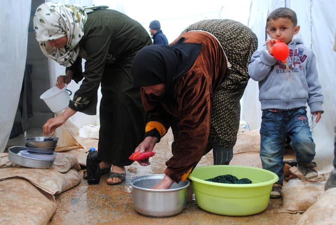 Eynesil ve Trabzonun Yardımları Suriyede 25