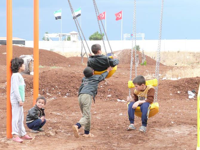 Eynesil ve Trabzonun Yardımları Suriyede 26