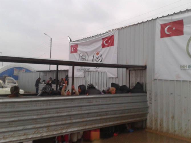 Eynesil ve Trabzonun Yardımları Suriyede 3