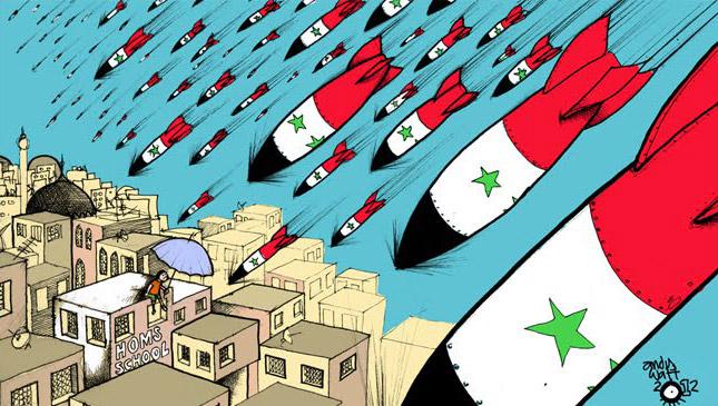 Esed Suriye Halkına Ölüm Yağdırıyor 1