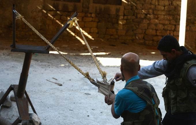 Suriyeli Direnişçilerin Ağır Silah Sanayisi 1