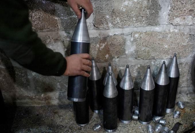Suriyeli Direnişçilerin Ağır Silah Sanayisi 13