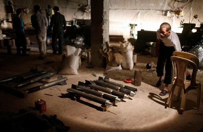 Suriyeli Direnişçilerin Ağır Silah Sanayisi 14