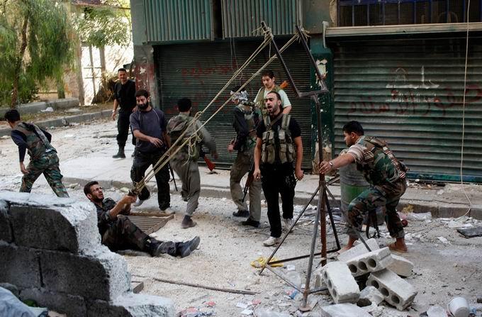 Suriyeli Direnişçilerin Ağır Silah Sanayisi 18