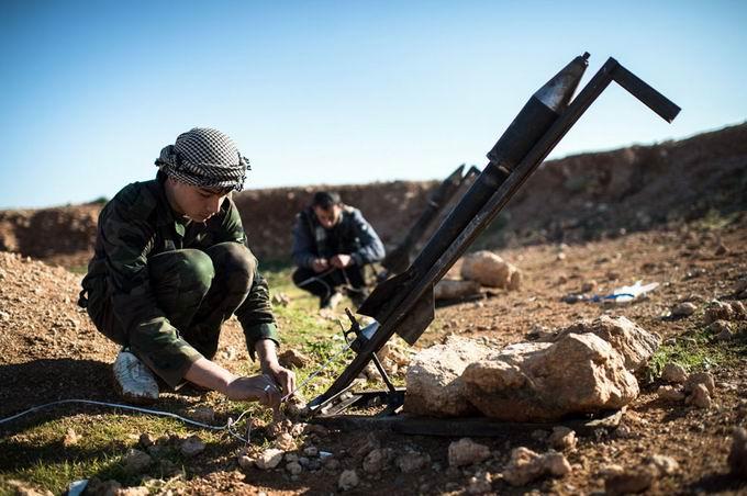 Suriyeli Direnişçilerin Ağır Silah Sanayisi 2