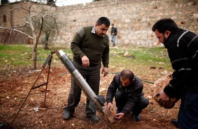 Suriyeli Direnişçilerin Ağır Silah Sanayisi 22