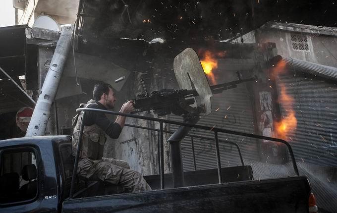 Suriyeli Direnişçilerin Ağır Silah Sanayisi 24