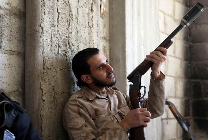 Suriyeli Direnişçilerin Ağır Silah Sanayisi 25