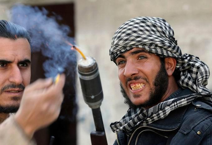 Suriyeli Direnişçilerin Ağır Silah Sanayisi 26