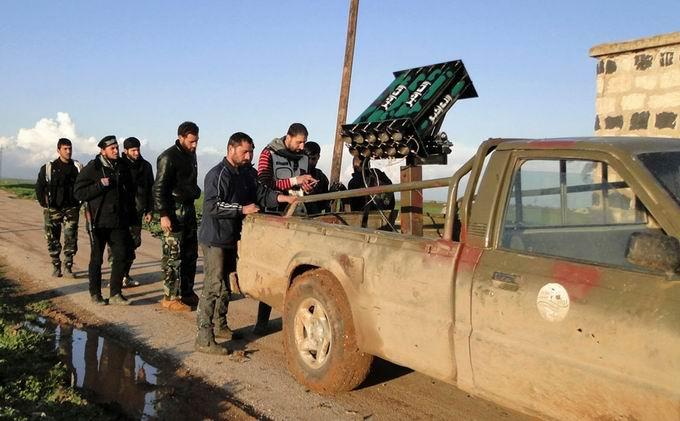 Suriyeli Direnişçilerin Ağır Silah Sanayisi 29