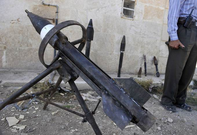 Suriyeli Direnişçilerin Ağır Silah Sanayisi 33