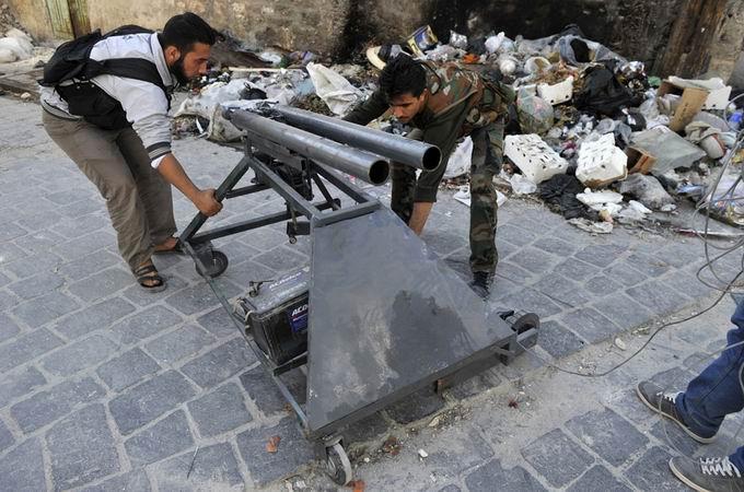 Suriyeli Direnişçilerin Ağır Silah Sanayisi 34
