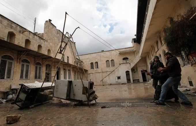 Suriyeli Direnişçilerin Ağır Silah Sanayisi 35