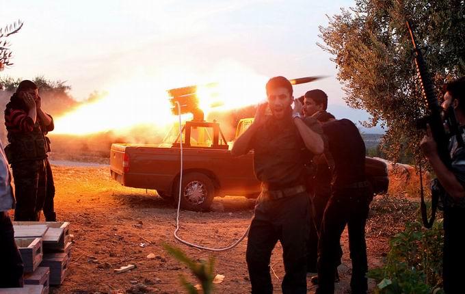 Suriyeli Direnişçilerin Ağır Silah Sanayisi 37