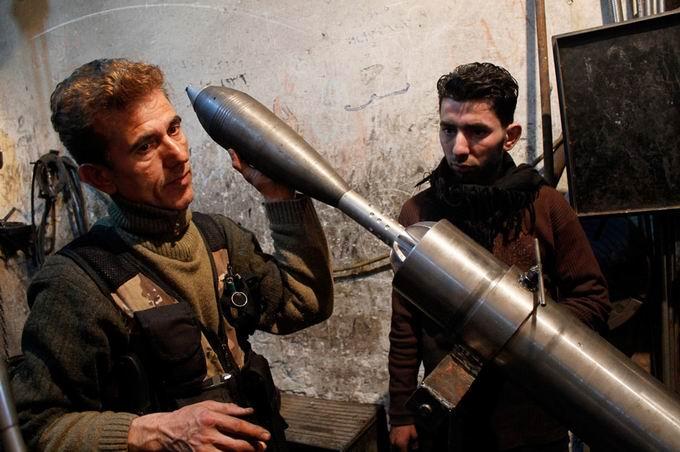 Suriyeli Direnişçilerin Ağır Silah Sanayisi 6