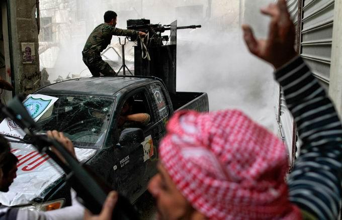 Suriyeli Direnişçilerin Ağır Silah Sanayisi 7
