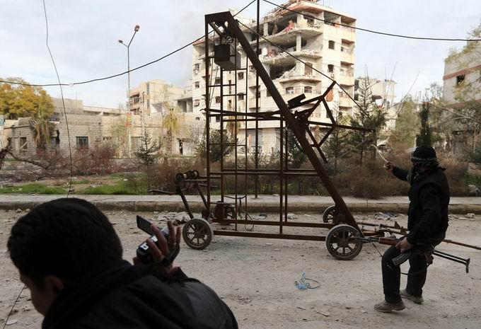 Suriyeli Direnişçilerin Ağır Silah Sanayisi 9