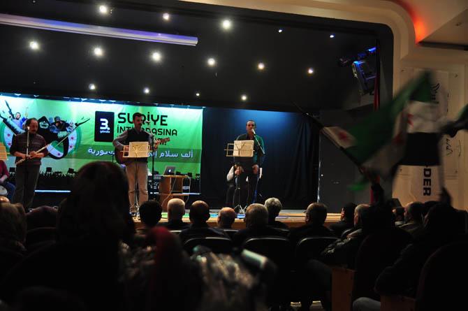 9 Mart Suriye İntifadası ile Dayanışma Gecesi 11
