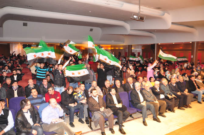 9 Mart Suriye İntifadası ile Dayanışma Gecesi 14