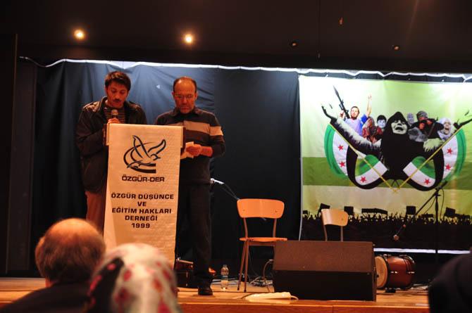 9 Mart Suriye İntifadası ile Dayanışma Gecesi 2