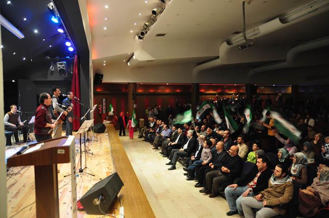 9 Mart Suriye İntifadası ile Dayanışma Gecesi 20