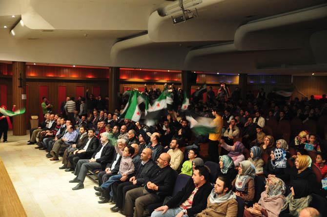 9 Mart Suriye İntifadası ile Dayanışma Gecesi 21