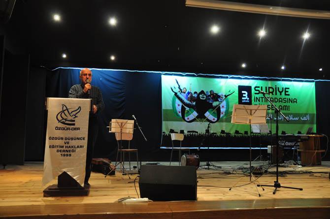 9 Mart Suriye İntifadası ile Dayanışma Gecesi 24