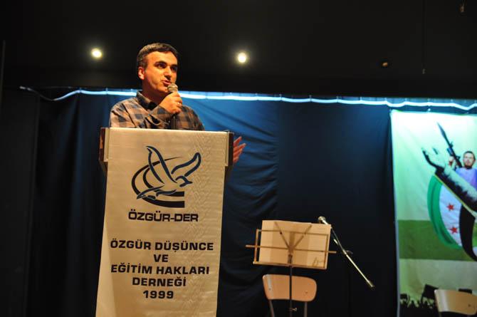 9 Mart Suriye İntifadası ile Dayanışma Gecesi 25