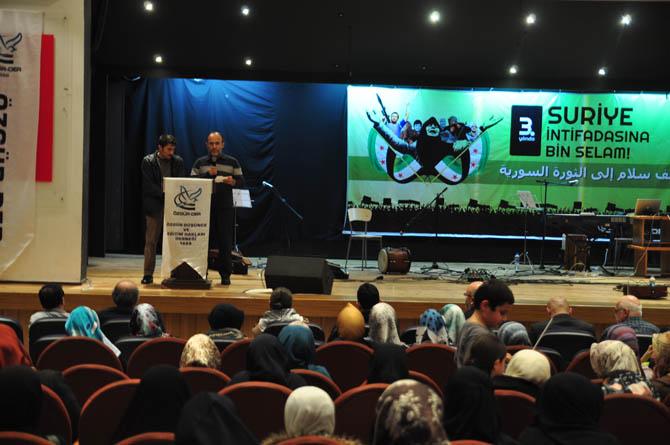 9 Mart Suriye İntifadası ile Dayanışma Gecesi 3