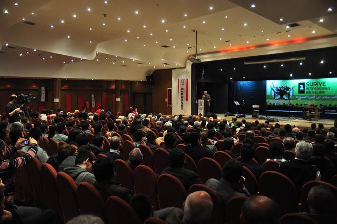9 Mart Suriye İntifadası ile Dayanışma Gecesi 6