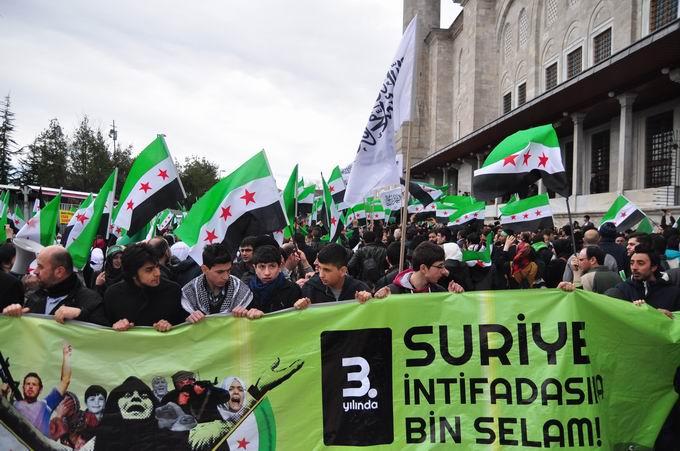 İstanbul'da Binler Suriye Cihadını Selamladı! 1