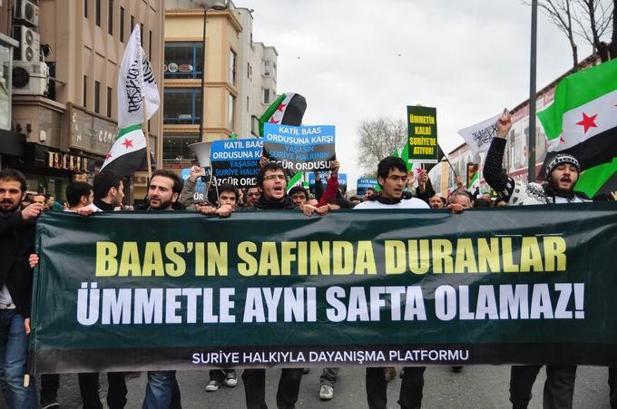 İstanbul'da Binler Suriye Cihadını Selamladı! 11