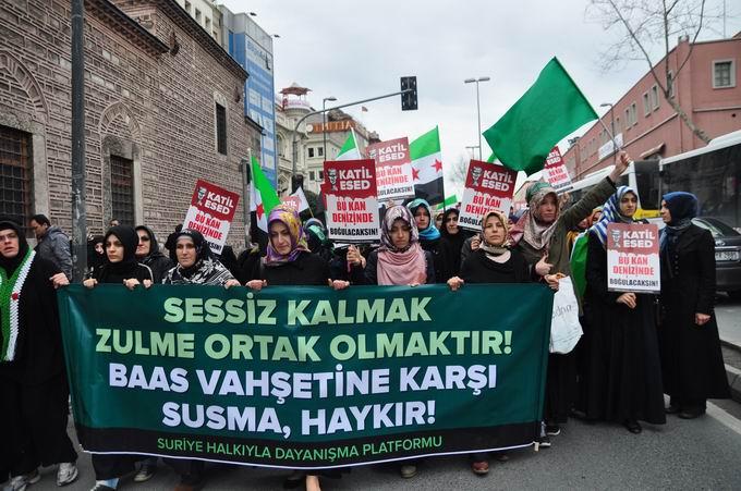 İstanbul'da Binler Suriye Cihadını Selamladı! 15