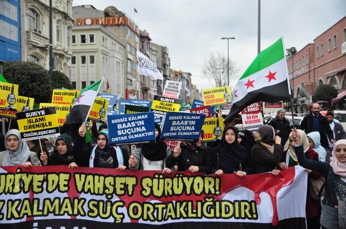 İstanbul'da Binler Suriye Cihadını Selamladı! 19