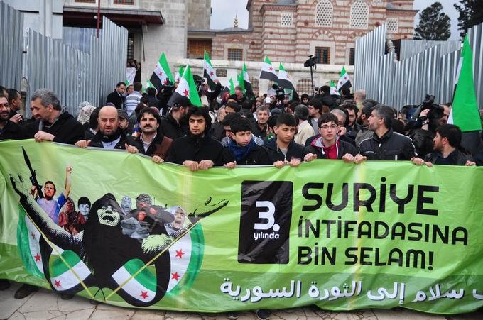 İstanbul'da Binler Suriye Cihadını Selamladı! 2
