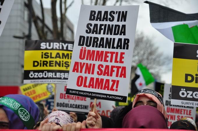 İstanbul'da Binler Suriye Cihadını Selamladı! 21