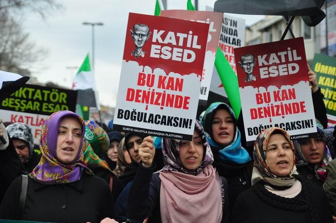 İstanbul'da Binler Suriye Cihadını Selamladı! 22